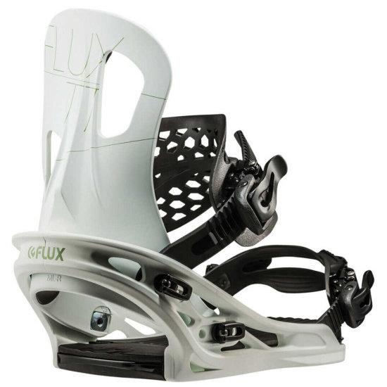 Flux TT Snowboardbindung - white M (EU 39,5 - 43)