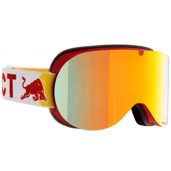 Red Bull Bonnie 005 goggle - red