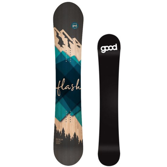 Goodboards Flash Noserocker Snowboard - blau