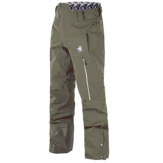 Picture Object Snowpant 20k - dark army green
