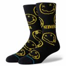 Stance Lifestyle Nirvana Face Socken - black