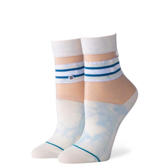 Stance Lifestyle Joan QTR Socken - white