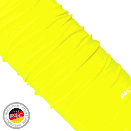 P.A.C. Original Multifunktionstuch - neon yellow