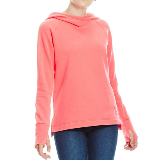 Bench Cosy Hooded Sweat - pink S