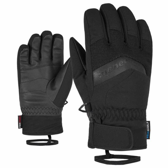 Ziener Labino AS kids Handschuh - black 6