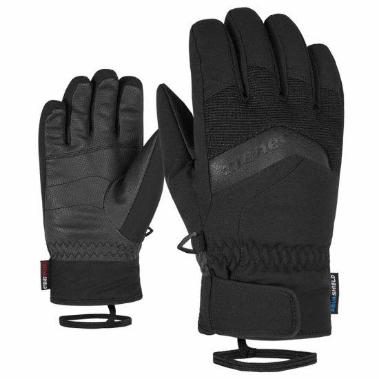 Ziener Labino AS kids Handschuh - black 7