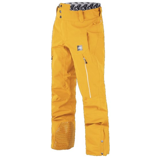 Picture Object Snowpant 20k - Yellow L