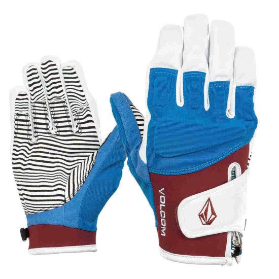 Volcom Crail glove Handschuh - burnt red