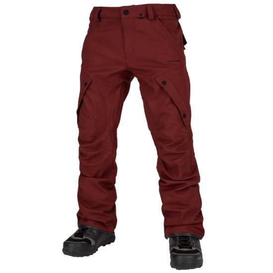 Volcom Articulated Snowpant 15k - burnt red
