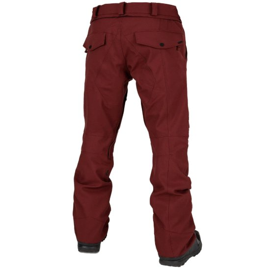 Volcom Articulated Snowpant 15k - burnt red S