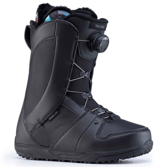 Ride Sage Boa Snowboardboot - black 38