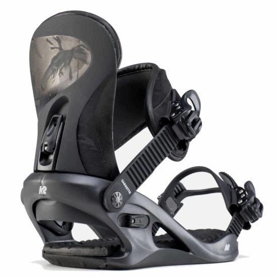 K2 Cassette Snowboardbindung - black M