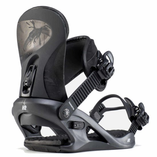 K2 Cassette Snowboardbindung - black L