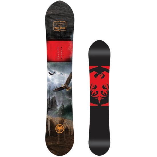 Never Summer West Bound X Snowboard 161 cm