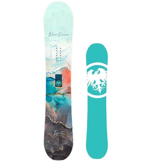 Never Summer Infinity Allmountain Snowboard