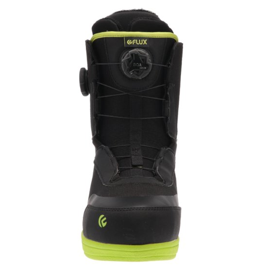 Flux GT-Boa Snowboardboot - black/lime 10