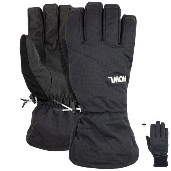 Howl Belmont gloves Handschuhe - black