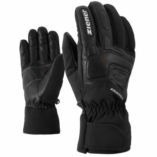 Ziener GLYXUS AS Handschuhe - black 8,5