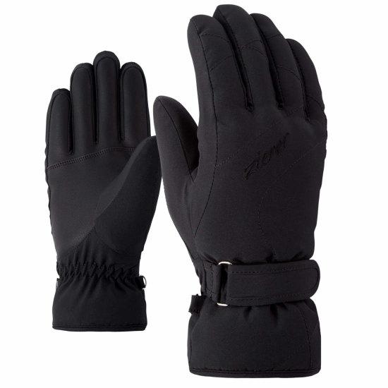 Ziener Kaddy Handschuhe - black 6,5