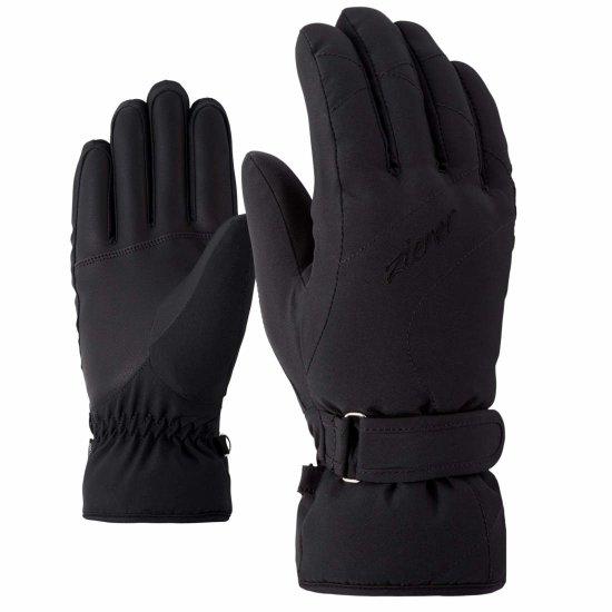 Ziener Kaddy Handschuhe - black 7,5