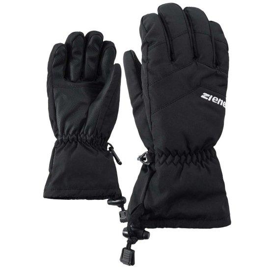 Ziener Lett AS kids Handschuh - black