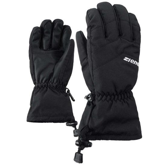 Ziener Lett AS kids Handschuh - black 7,5