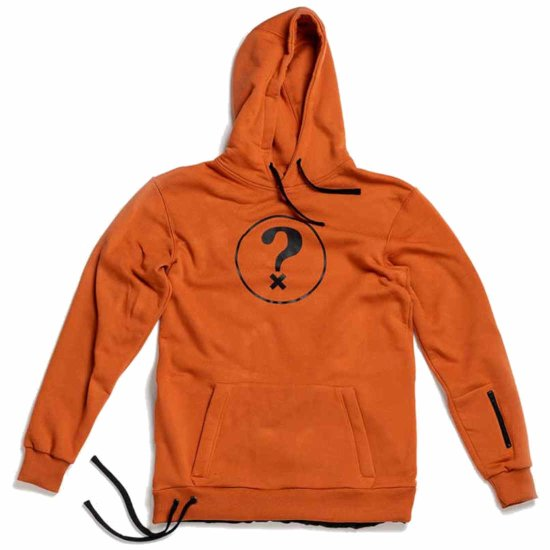 Hä? Ride Question Riding Hoodie - earth