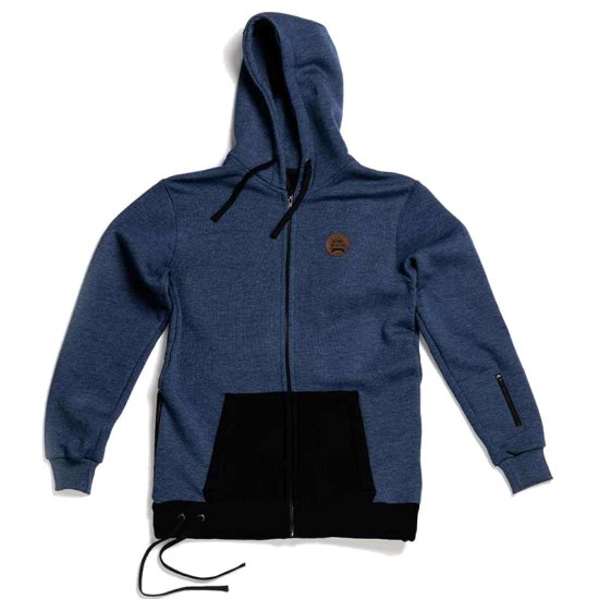 Hä? Ride Go Outside Riding Hoodie - navy M
