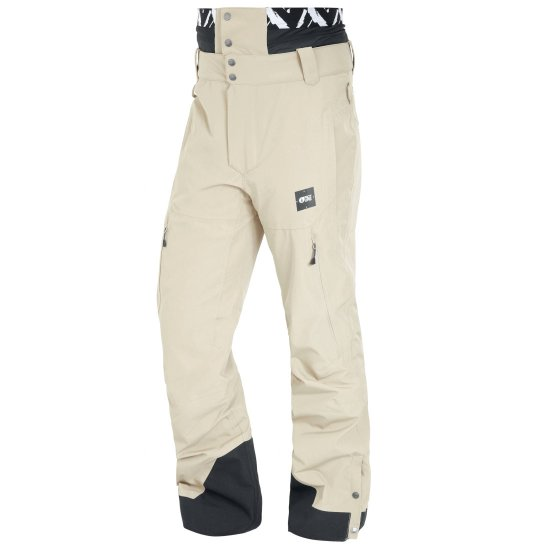 Picture Object Snowpant 20k - stone M