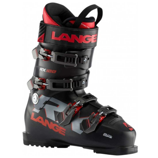 Lange RX 100 Skischuh - black/red 315