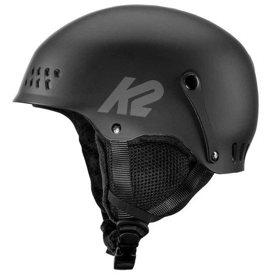 K2 Entity Junior Snowhelm - black XS (48 - 51 cm)