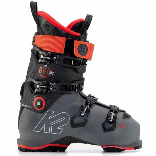 K2 BFC 100 Gripwalk Skischuh - grey/red