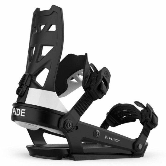 Ride A-8 Snowboardbindung - classic black L (EU 43,5- 50+)