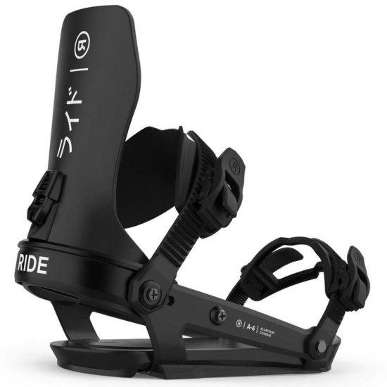 Ride A-6 Snowboardbindung - hakuba L (EU 43,5- 50+)