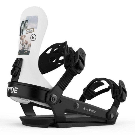 Ride A-6 Snowboardbindung - collage M (EU 37- 43,5)