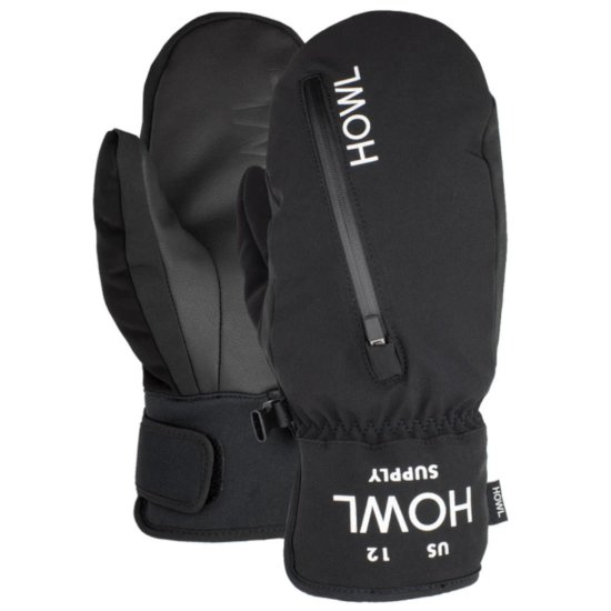 Howl Pocket Mitt Fäustling - black L