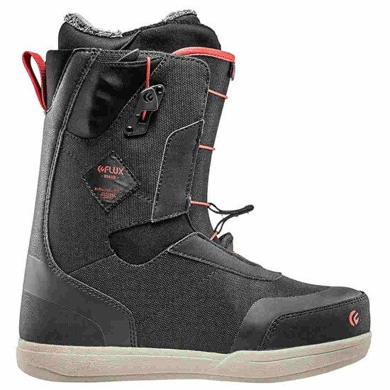 Flux GT-Speed Snowboardboot - black/red 45,5