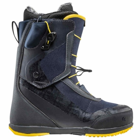 Flux VR-Speed Snowboardboot - midnight/yellow 44