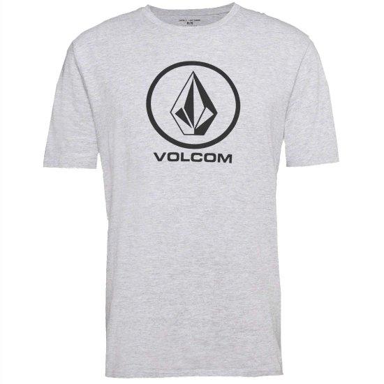Volcom Crisp Basic SS T-Shirt - heather grey