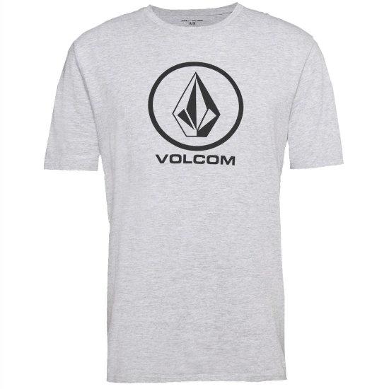 Volcom Crisp Basic SS T-Shirt - heather grey M