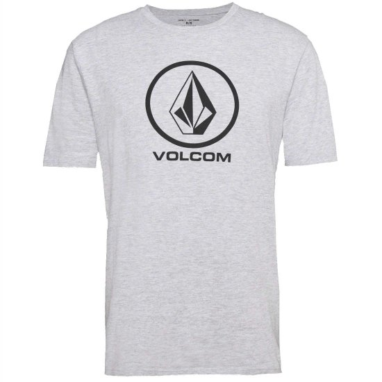 Volcom Crisp Basic SS T-Shirt - heather grey L