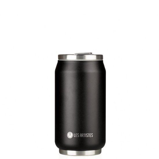 Les Artistes Pull Can'it 280 ml Trinkflasche - blackcurrant