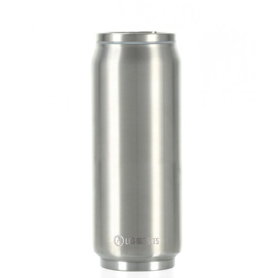 Les Artistes Pull Can'it 500 ml Trinkflasche - silverstar
