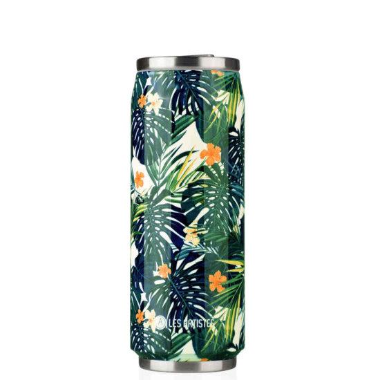 Les Artistes Pull Can'it 500 ml Trinkflasche - hawaii mat