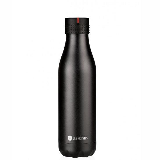 Les Artistes Bottle'Up 500 ml Trinkflasche - black