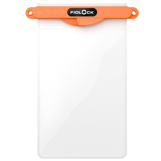 Fidlock Hermetic Dry Bag Medi - orange/ trans/ trans