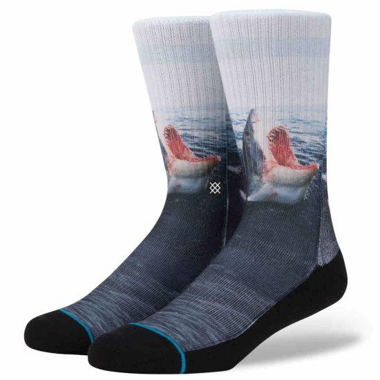 Stance Landlord Classic Crew Socken - blue M