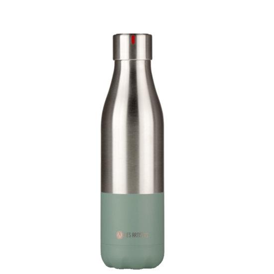 Les Artistes Bottle'Up 500 ml Trinkflasche - split sage