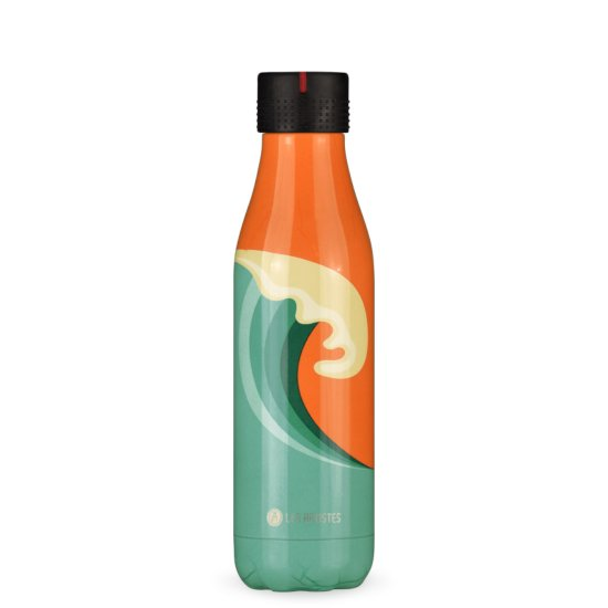 Les Artistes Bottle'Up 500 ml Trinkflasche - wave bril