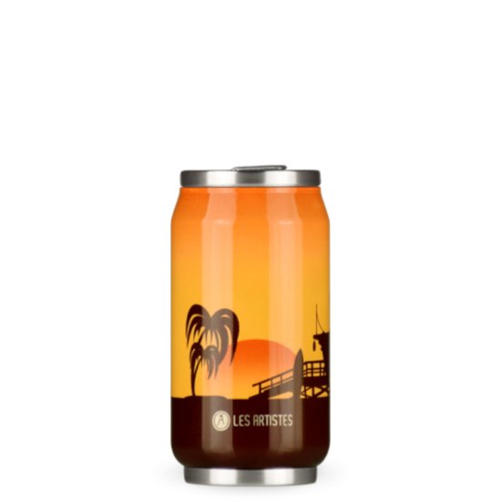 Les Artistes Pull Canit 280 ml Trinkflasche - sunset bril